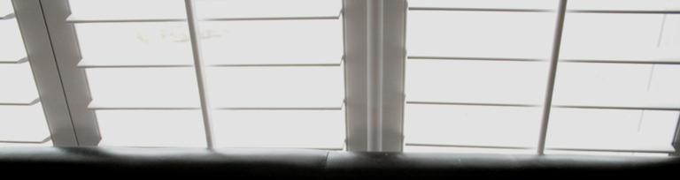 fauxwood shutters