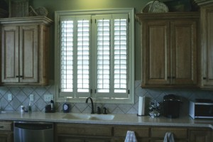 white kitchen shutters